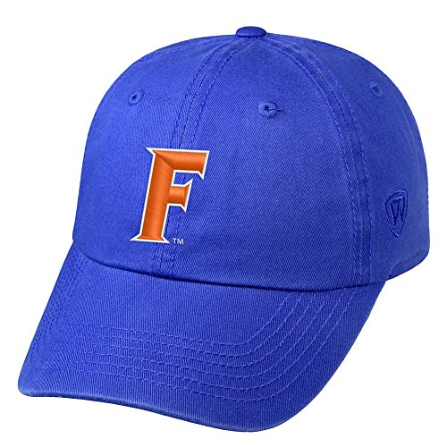 (Top of the World NCAA Florida Gators Male NCAA Men's Adjustable Hat Relaxed Fit Team Icon, Royal )