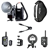 Godox AD360 Flash Speedlite with 4500mAh PB960 Power Battery Pack Big Kit,Includes:(1)Godox Ad360 Flash Kit+(1)AD360 Trigger FT-16+(1)Canon Cells Ettl 1/8000 High Speed Trigger+(1)AD360 Bowen S-type Mount+(1)AD360 60*60cm Softbox+(1)PB960 Q-type Bracket+(1)PB960 DB-02 Cable,Reduce Half Recyle Time