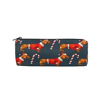 Estuche para lápices de Navidad, diseño de perro salchicha ...