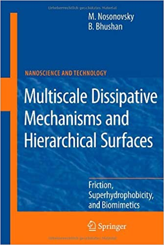 Multiscale Dissipative Mechanisms and Hierarchical Surfaces:
