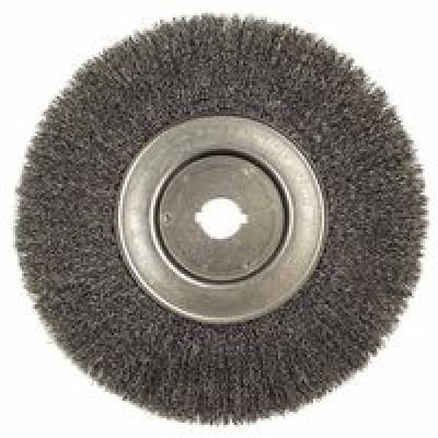 Weiler 804-01250-12 Trulock Narrow Face Crimped Wire Wheel, 10