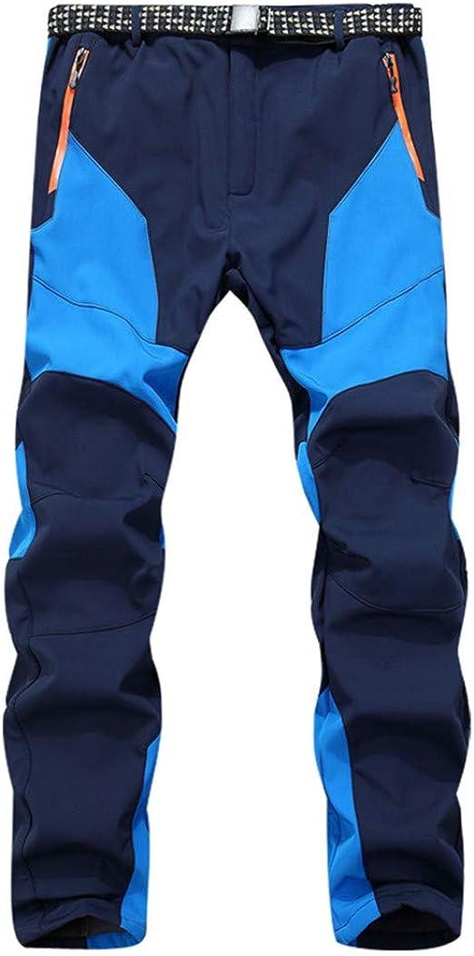 New Men Winter Outdoor Ski Waterproof Pants Windproof Trousers Plus Size L-5XL
