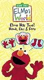 Elmos World - Elmo Has Two! Hands, Ears & Feet [VHS]