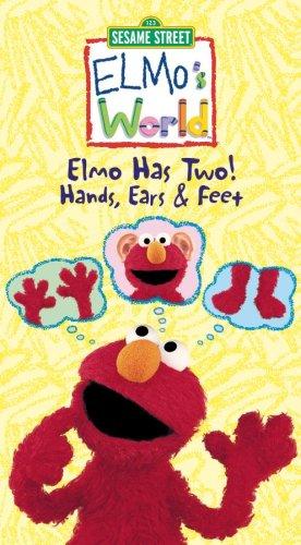 Elmo's World - Elmo Has Two! Hands, Ears & Feet [VHS]