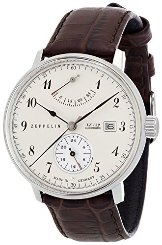 ZEPPELIN Watches LZ129 Hindenburg White 70604 Men's [regular imported goods]