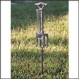 Garden Fork Rain Gauge from Colonial Tin Works