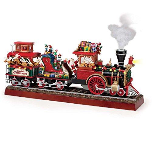 (Mr. Christmas Animated Musical Santa's Express with Working Smokestack)