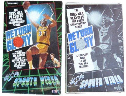 Return To Glory: 1985 NBA Playoffs LA Lakers vs Boston Celtics. Video & Playoff Guide