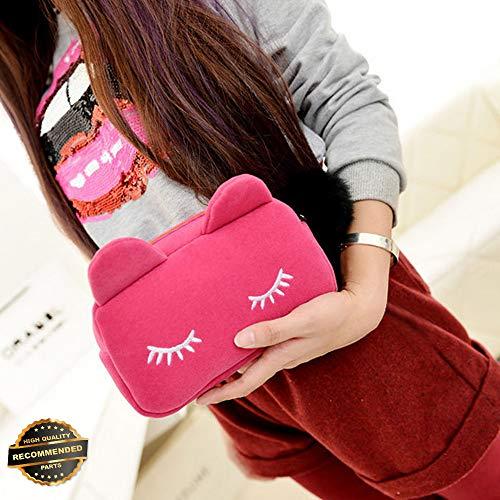 Gatton Women Mesh Zipper Pouch Wallet Case Cosmetic Makeup Bag Travel Organizer Storage | Style ()
