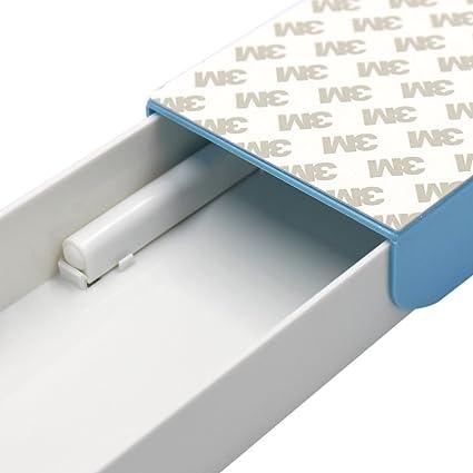 Transparent YSINFOD Schreibtisch Schublade Organizer Tabletts Unter dem Tisch Schublade Kreative B/üro Aufbewahrungsbox Selbstklebend Versteckt Unter Schreibtisch Schublade Organizer