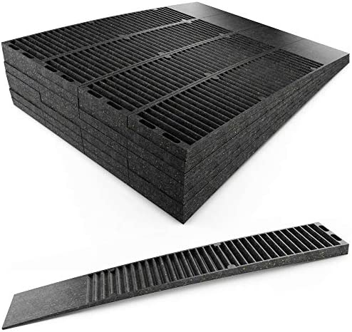 Pro Project Supplys Never-Rot 8 Inch Composite Shims, 24 Pack. Home Improvement DIY Levelers Have Extreme Weight Capacity, are Weather Resistant, Easy to Break & Perfect for Doors, Windows, & Sheds.