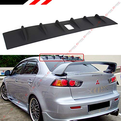 Cuztom Tuning Fits for 2008-2017 Mitsubishi Lancer Ralliart Shark Fin Roof Vortex Generator Spoiler