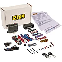 Complete 1-Button Remote Start Kit with Keyless Entry For Select Chrysler & Dodge Vans: Chrysler Town & Country [2004-2007], Chrysler Pacifica [2004-2008], Dodge Caravan & Grand Caravan [2004-2007]