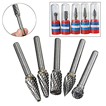"10PCS Tungsten Carbide Burr 1//8/"" 3mm Rotary Cutter Files Set CNC Engraving 10mm"