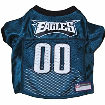Nfl Pet Jersey. - Football Licensed Dog Jersey. - 32 Nfl Teams Available. - Comes In 6 Sizes. - Football Pet Jersey. - Sports Mesh Jersey. - Dog Jersey Outfit. - Nfl Dog Jersey 1