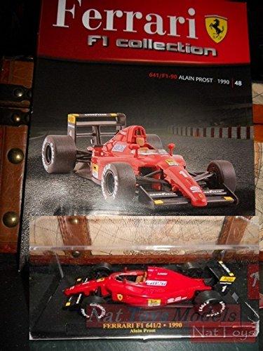 Ferrari F1 Collection F1-90 1990 Prost Model +BOX + fas. Fabbri DIE ...