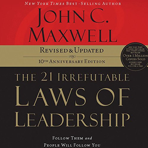 Bargain Audio Book - The 21 Irrefutable Laws of Leadership  10