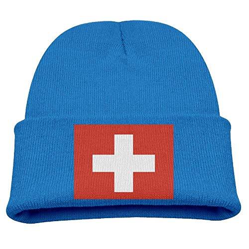 DearLord - Gorro de Punto - para Hombre Azul Azul Real Talla única