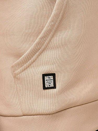 De shirt Base Redbridge Sweat Capuche Hommes Pull À Coton Beige Décontracté wag0EHqRx