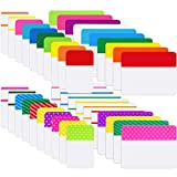 800 Pieces File Tabs Sticky Index Tabs, Writable
