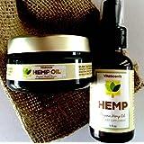 Hemp Oil Nighttime Facial Serum & Hemp Oil Combo