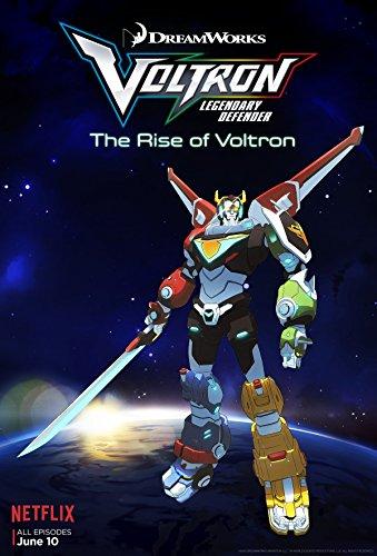 Sdcc 2016 Voltron Dreamworks Netflix Framed Promotional Poster