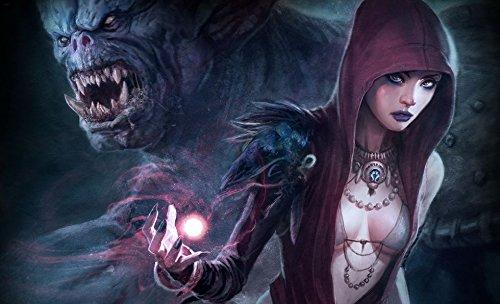 003 Dragon Age Origins 23x14 Inch Silk Poster Seda Cartel