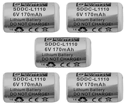 Pet Stop Ultra Elite 2 Dog Collar Battery Combo-Pack Includes: 5 x DC-29 Batteries (Battery Dog Guard)