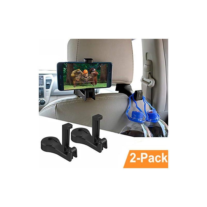Car Hooks Car Seat Back Hooks with Phone
