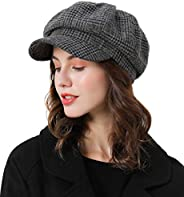 Sumolux Women Beret Newsboy Hat French Cotton Cap Classic Autumn Spring Winter Hats