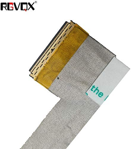 Cable Length Shows, Color: Black Computer Cables LCD LED Video Flex Cable for DELL Inspiron 5720 7720 17R PN:0K2M54 DD0R09LC060