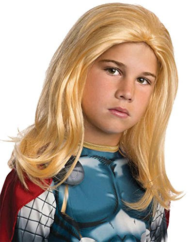 Thor Ultimate Costume (UHC Marvel Avengers Thor Wig Child Halloween Costume Accessory)