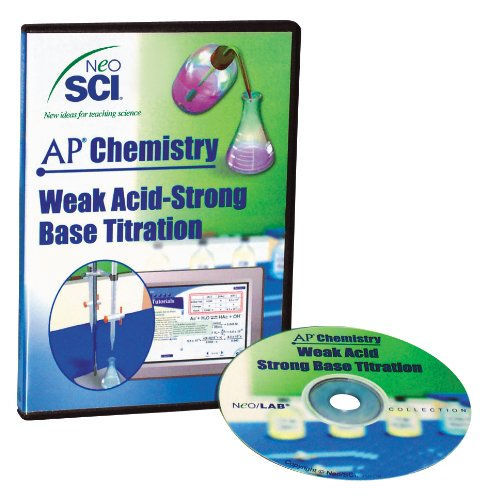 Neo/SCI Weak Acid Strong Base Titration Neo/LAB AP Chemistry Software, Individual License ()