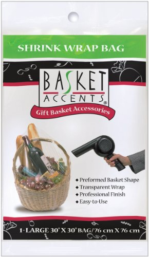 Basket Accents Shrink Wrap Bags - 4