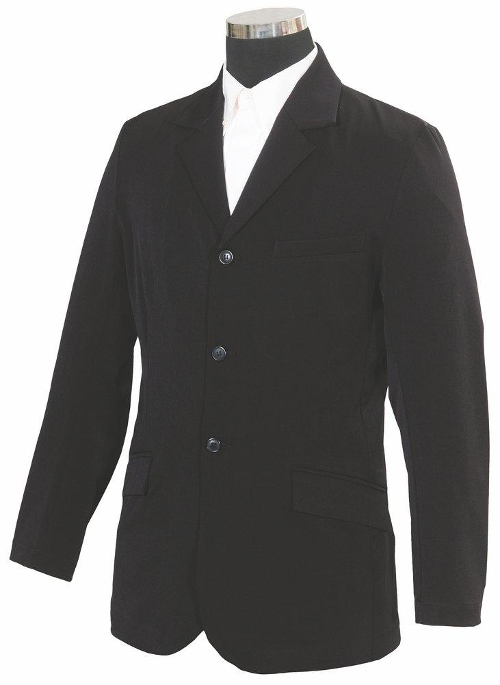 TuffRider Men's Raleigh Show Coat, Black, Medium by TuffRider