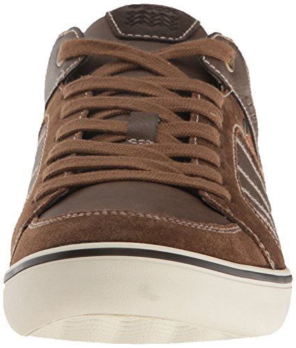 F Basses Homme Brown Baskets Geox Marron Box Cigar U fqEInwx1