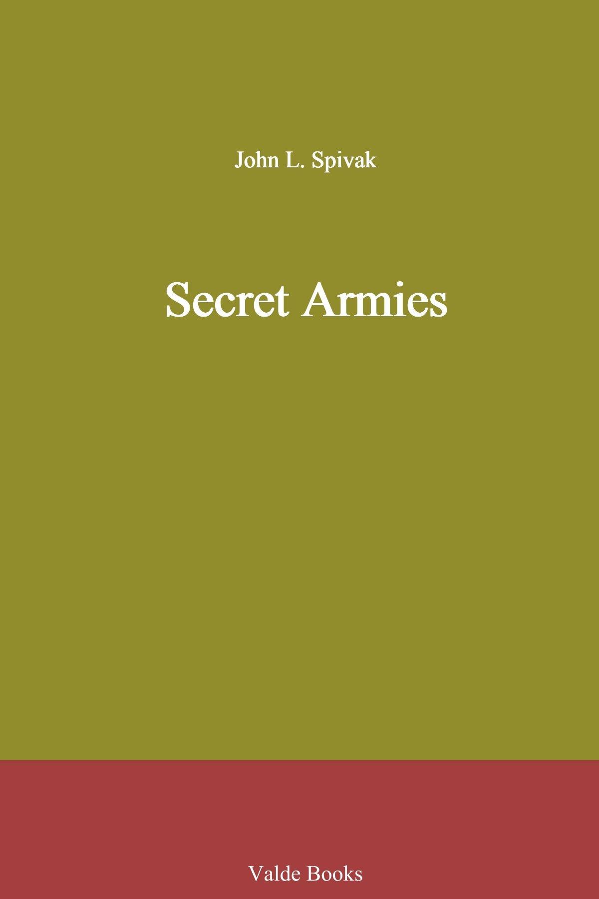 Read Online Secret Armies ebook