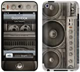 GelaSkins Protective Skin for iPod Touch 4G with Access to Matching Digital Wallpaper Downloads - Boombox