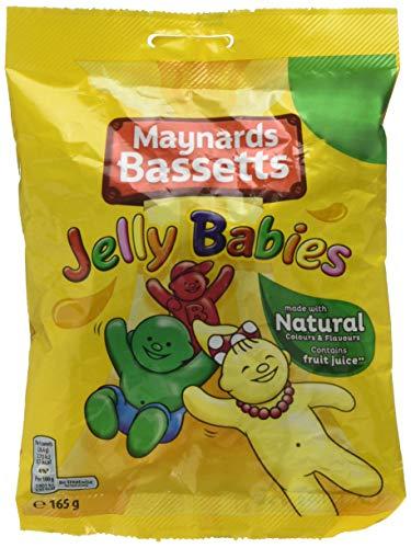 - Maynards Bassetts Jelly Babies Sweets Bag 165g