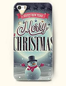 OOFIT Phone Case design with Snowman Cheers for the Christmas Day - Merry Christmas and Happy New Year for Apple iPhone 4 4s 4g