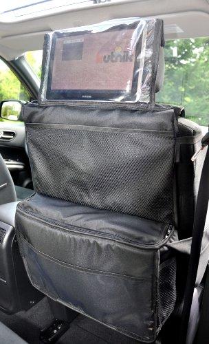 Kutnik Bolsa de almacenamiento multifuncional para coche y cochecito - Azul marino claro
