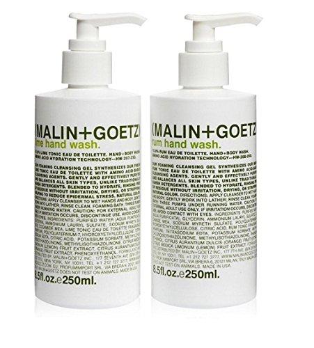 (Malin + Goetz) Rum + Lime Hand Wash Set by (Malin + Goetz)