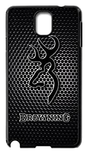 Browning Logo TPU Covers Cases Accessories for Samsung Galaxy Note3 N9000