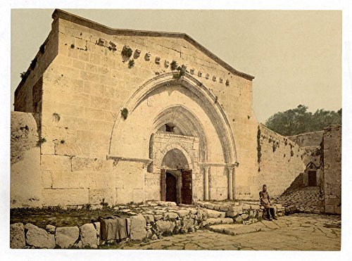 Historic Photos Tomb of the Virgin, and Cave of Agony, Jerusalem, Holy Land by Historic Photos