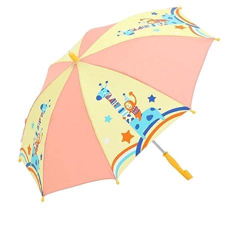 Hulday Paraguas Paraguas para Niños Mango Largo Paraguas ...