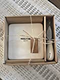 Rae Dunn Icon CHEESE Platewith Knife Boxed Set
