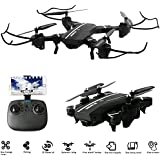 8807HD-G Mini Foldable Pocket RC Drone, RTF 360 Rolling 2.4G 4CH 6-Axis RC Quadcopter - 0.3MP WIFI FPV Camera UFO