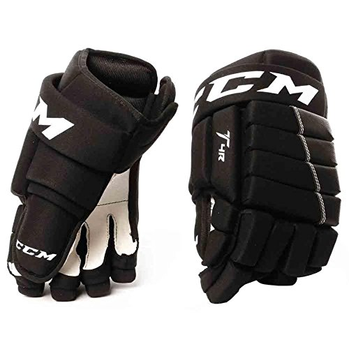 CCM Tacks 4Roll Hg4iii Junior Hockey Gloves Black ()