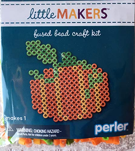 Perler Little Makers Fused Bead Craft kit Autumn -