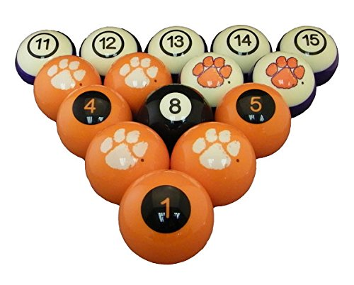 Clemson Tigers Pool Table, Clemson Billiards Table
